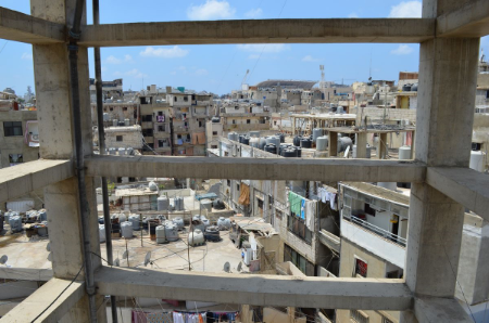 Shatila's density rivals that of Gaza City