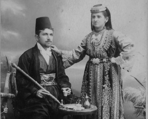 A Sephardi couple from Sarajevo