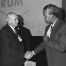 Klerk and Mandela