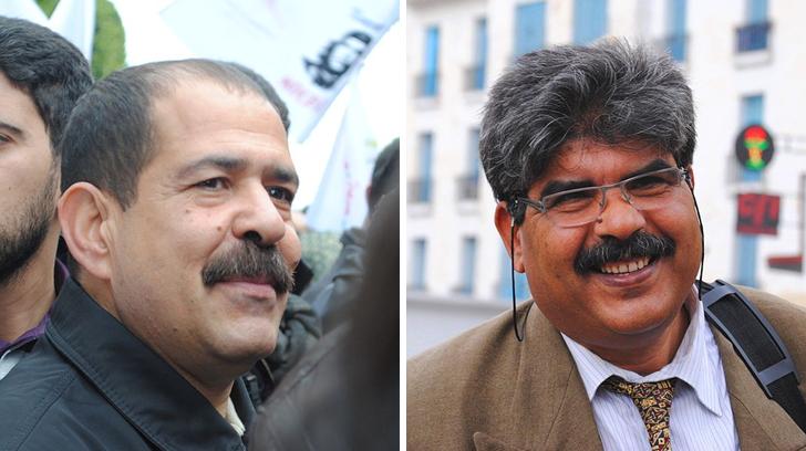 Chokri Belaid & Mohamed Brahmi