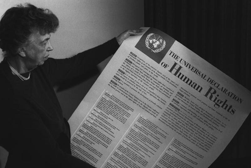 An analysis of elenor roosvelts speech for human rights