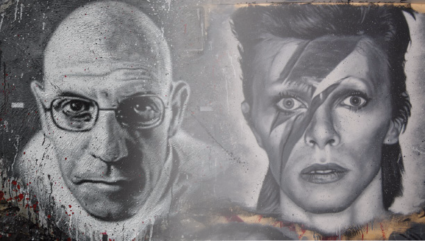 Michel Foucault and David Bowie