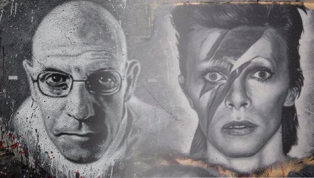Michel Foucault and David Bowie