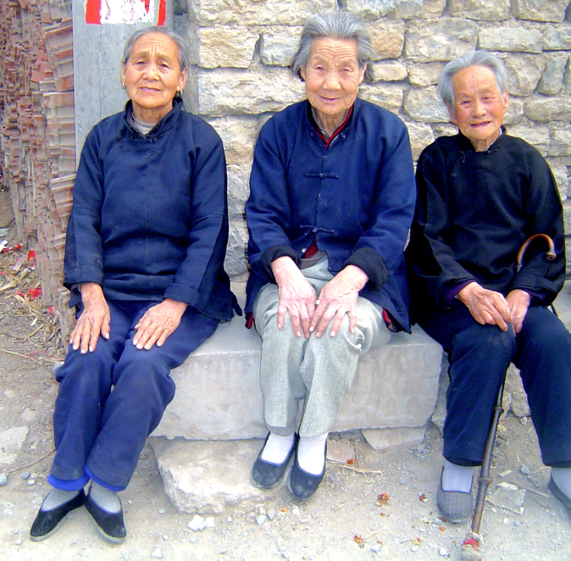 Three Shangdong women