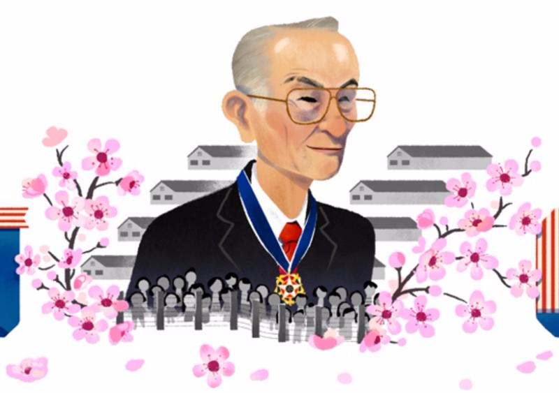Fred Korematsu's Google Doodle.