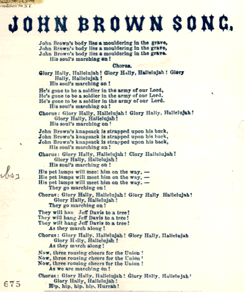 John Brown Song