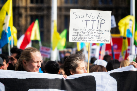 Anti-TTIP Rally