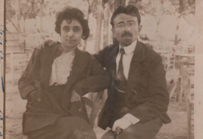 Hayganush Mark and husband