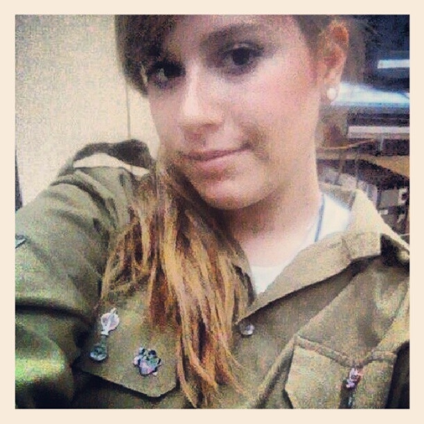 Israeli soldier selfie