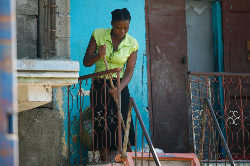 Domestic Worker from Haiti