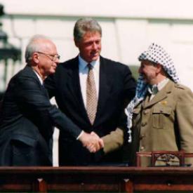 Clinton, Rabin, Arafat