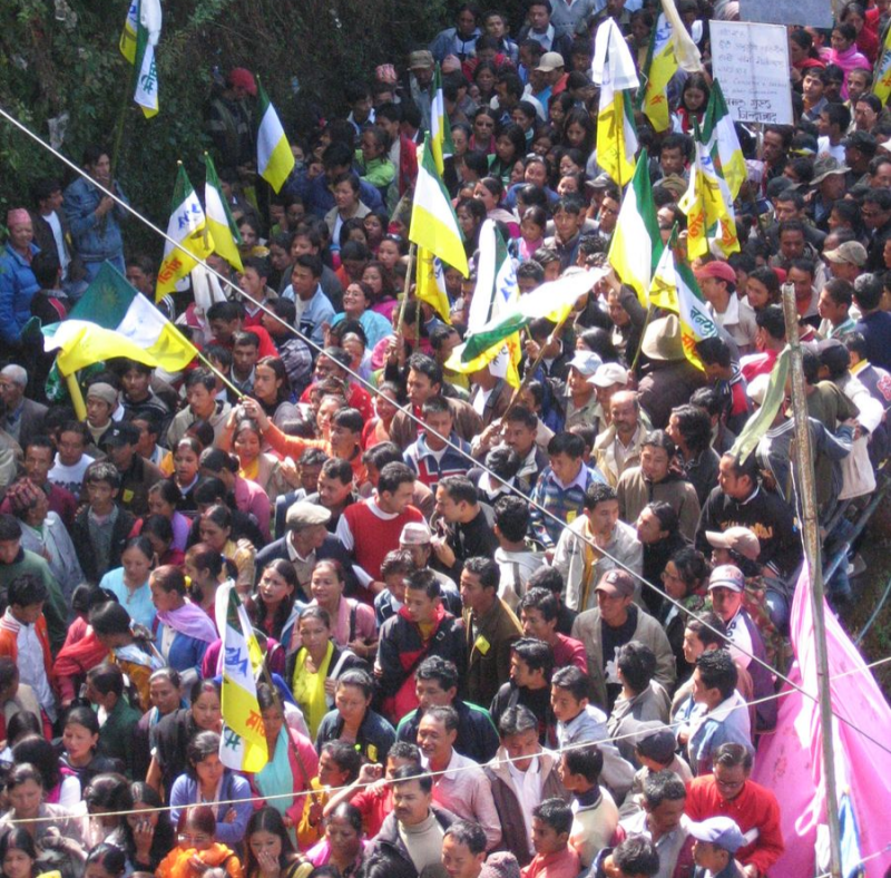 March for Gorkhaland