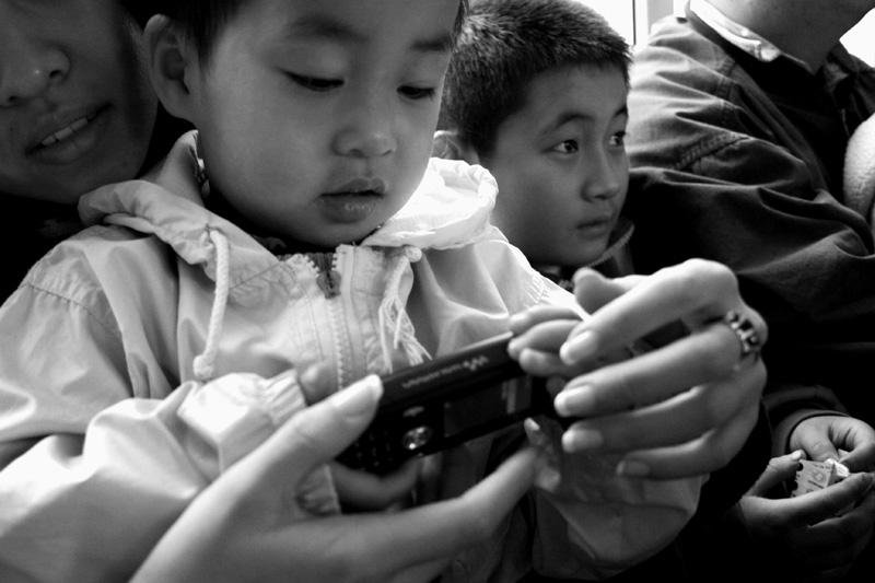 Chinese orphan boy