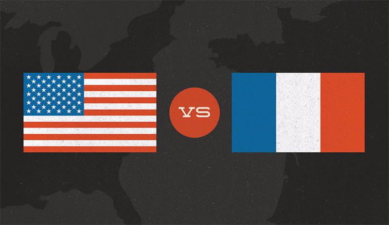 America vs. France