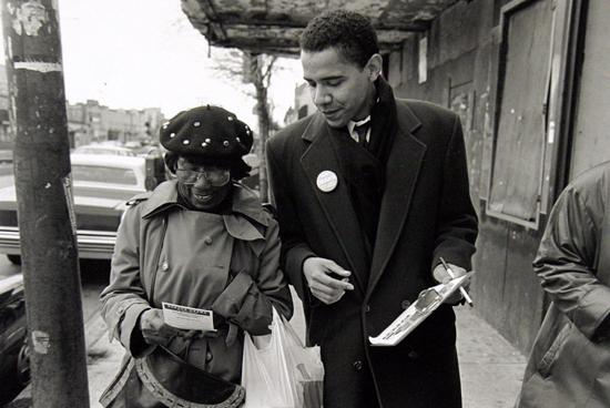 Community Organizer, Barack Obama
