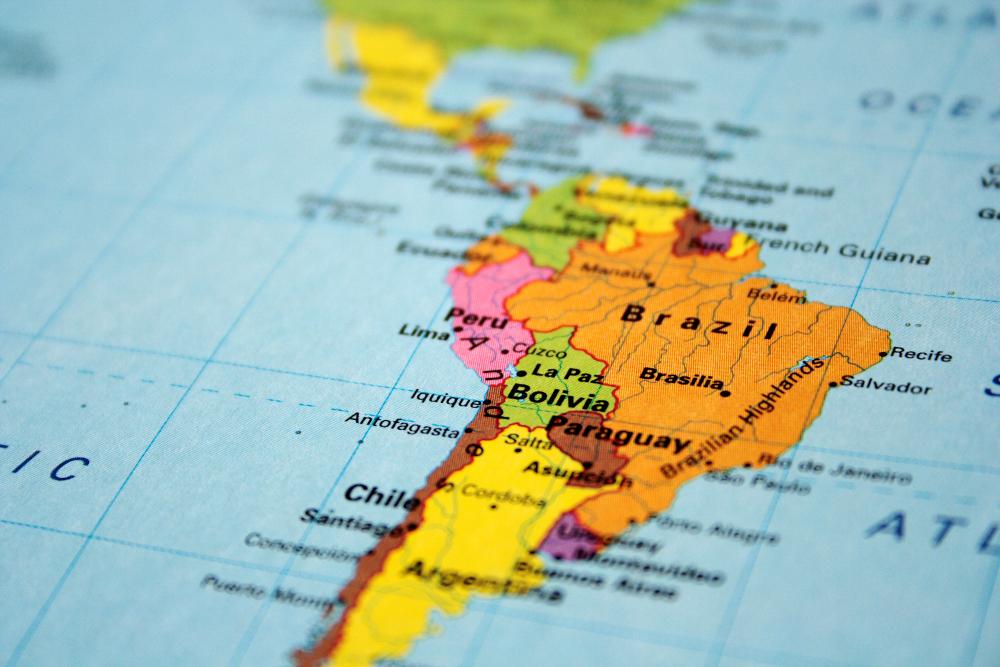 Stanford University Press Blog Latin American Studies - Us latin american intervention maps