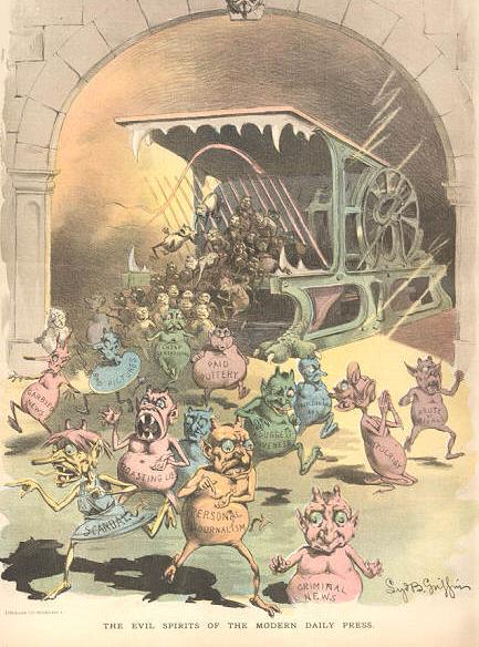 1880s political cartoon