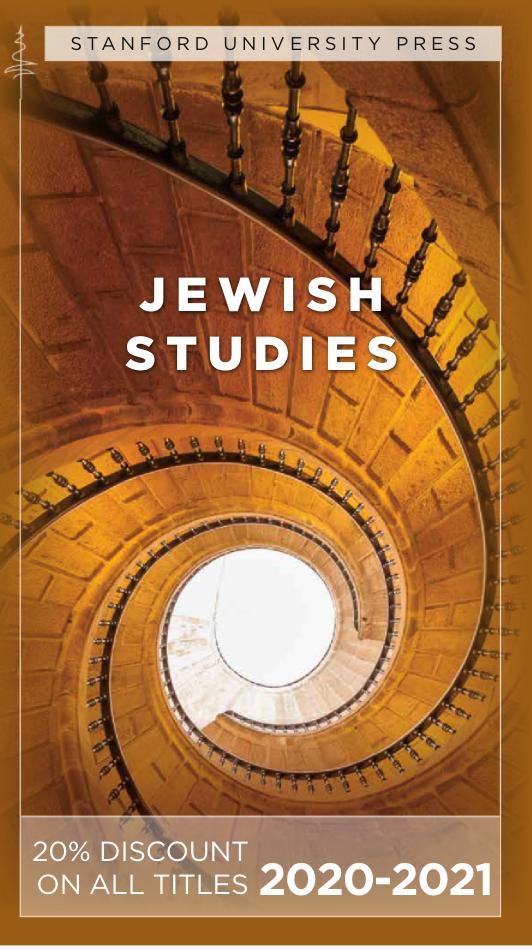 2020-2021 Jewish Studies Catalog